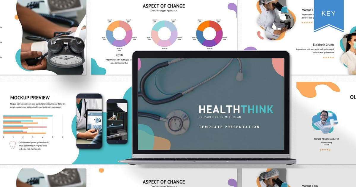 Download Healththink - Keynote Template by axelartstudio