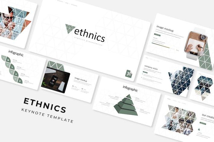 Ethnics - Keynote Template