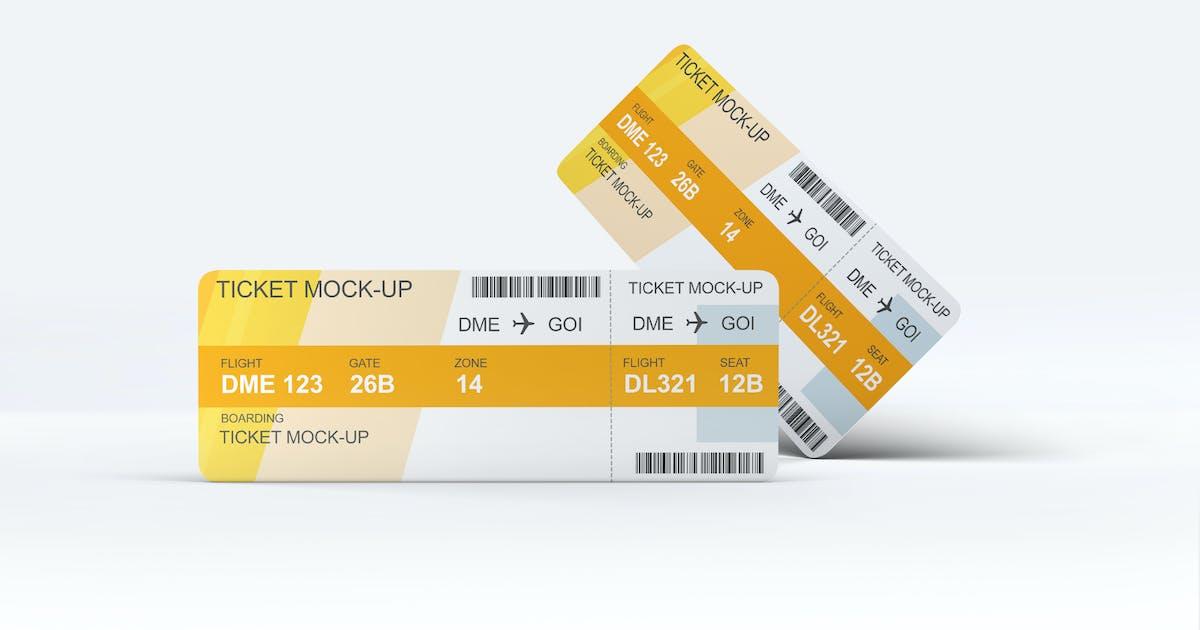 Download Ticket Mock-Up by L5Design