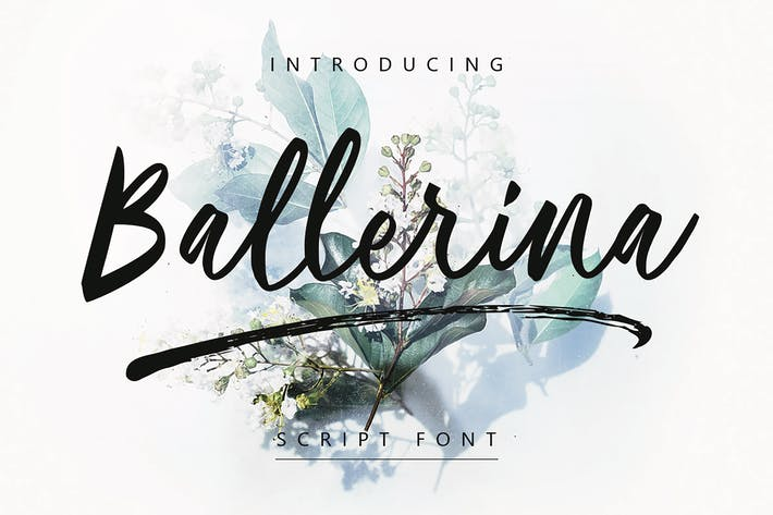 Thumbnail for Ballerina | Script Font MS
