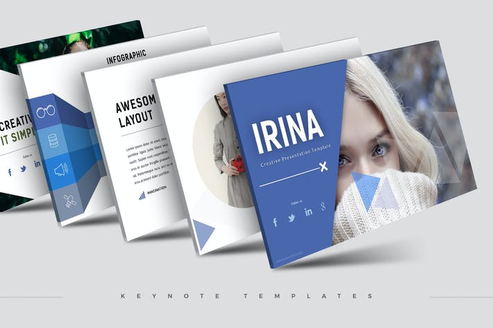 Thumbnail for Irina - Keynote Template