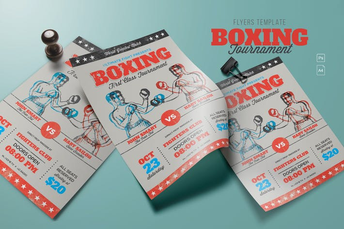 Cover Image For Retro Boxing Tournament