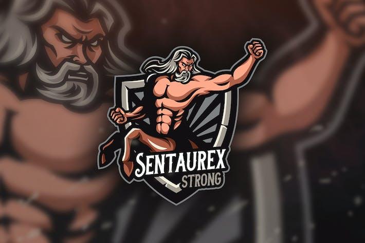 Thumbnail for Centaurex Strong- Mascot & Esport Logo