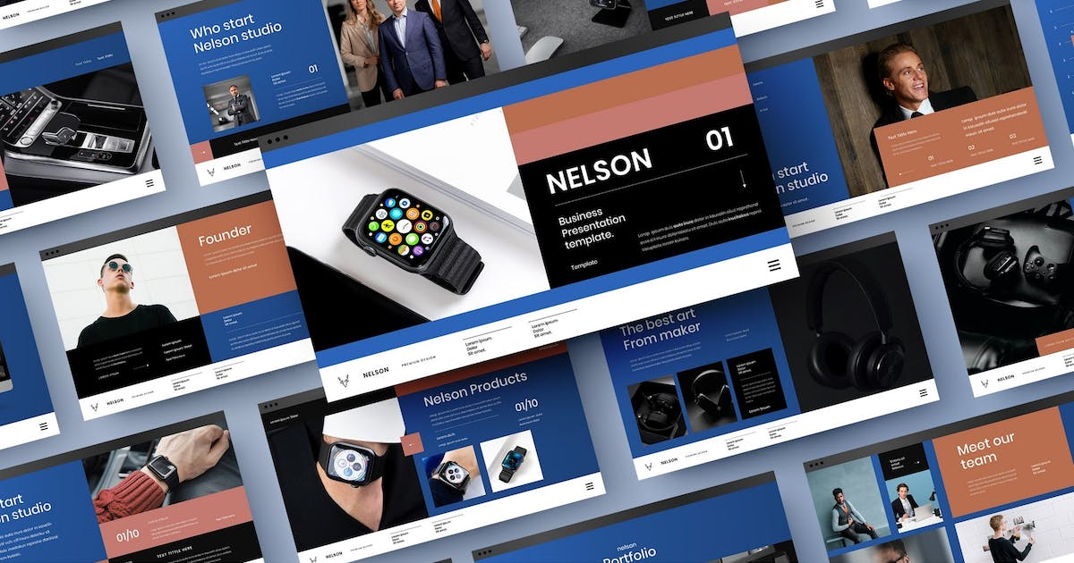 Download Nelson – Business PowerPoint Template by DensCreativeStudio