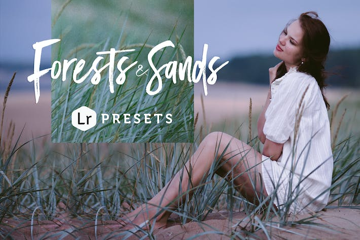Thumbnail for Forests & Sands Lightroom Presets