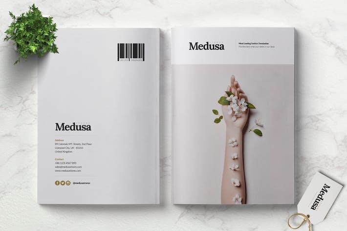 Thumbnail for MEDUSA - Lookbook Brochure Fashion