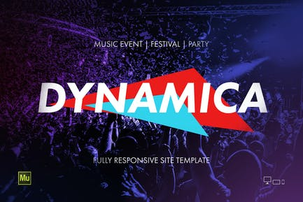 Dynamica - Music Event / Festival / Party site