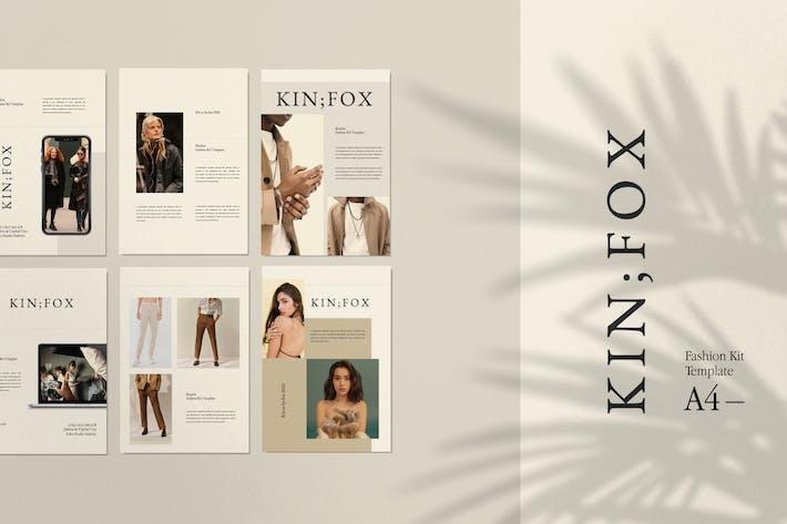 Thumbnail for Kinfox - A4 Potrait Google Slide