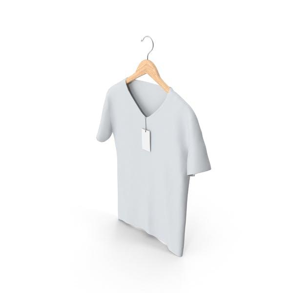 Male V-Neck on Hanger