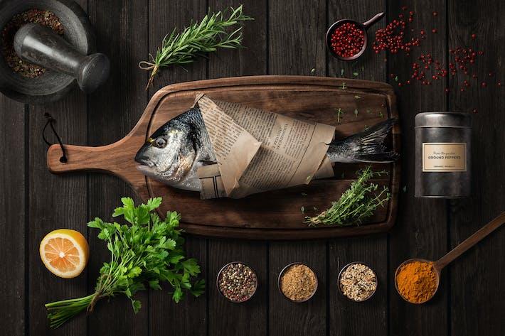 Thumbnail for Kitchen Ready Mockup Vol. 1