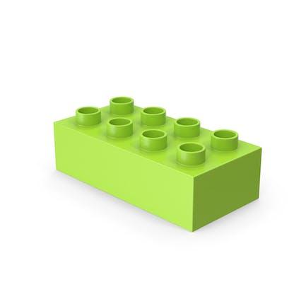 2x4 Toy Brick