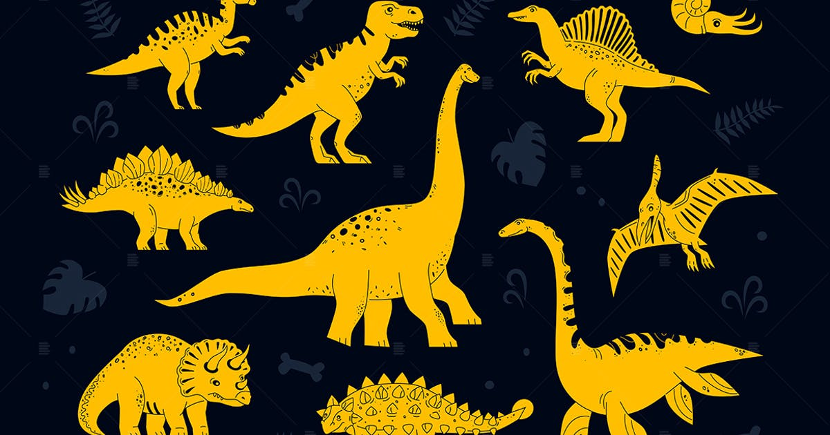 Download Dinosaurs collection - set of characters by BoykoPictures