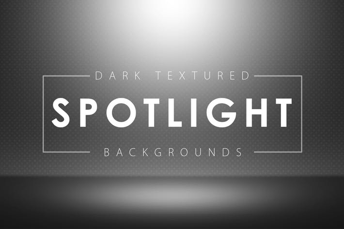 Cover Image For Dark Textured Spotlight Backgrounds