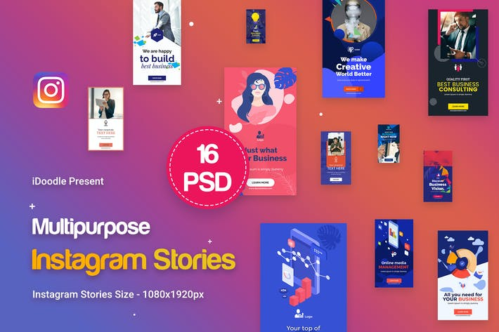 Thumbnail for Instagram Stories Multipurpose, Business Ad
