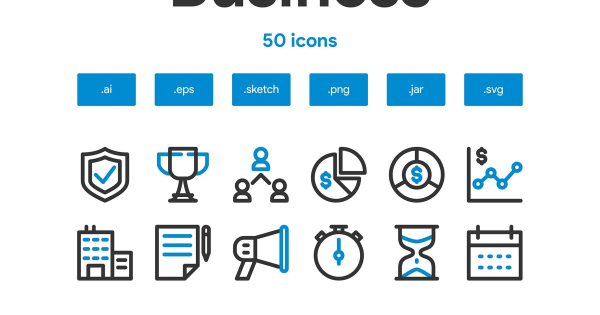 Download Business Icon Set by TanahAirStudio