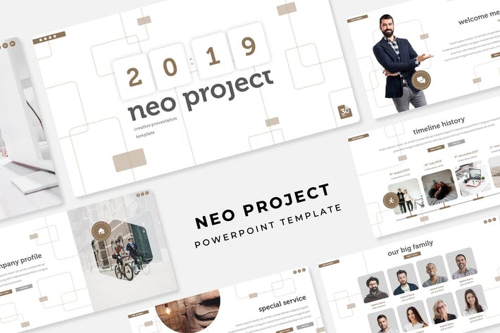 Thumbnail for Neo Project - PowerPoint Template