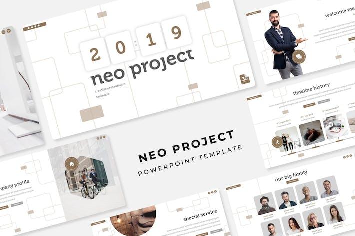 Thumbnail for Proyecto Neo - Plantilla de PowerPoint