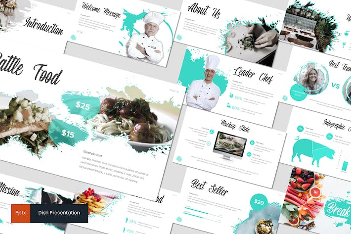 Dish - Powerpoint Template