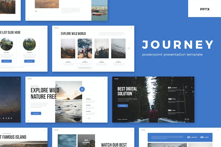 Thumbnail for Journey - PowerPoint Presentation Template