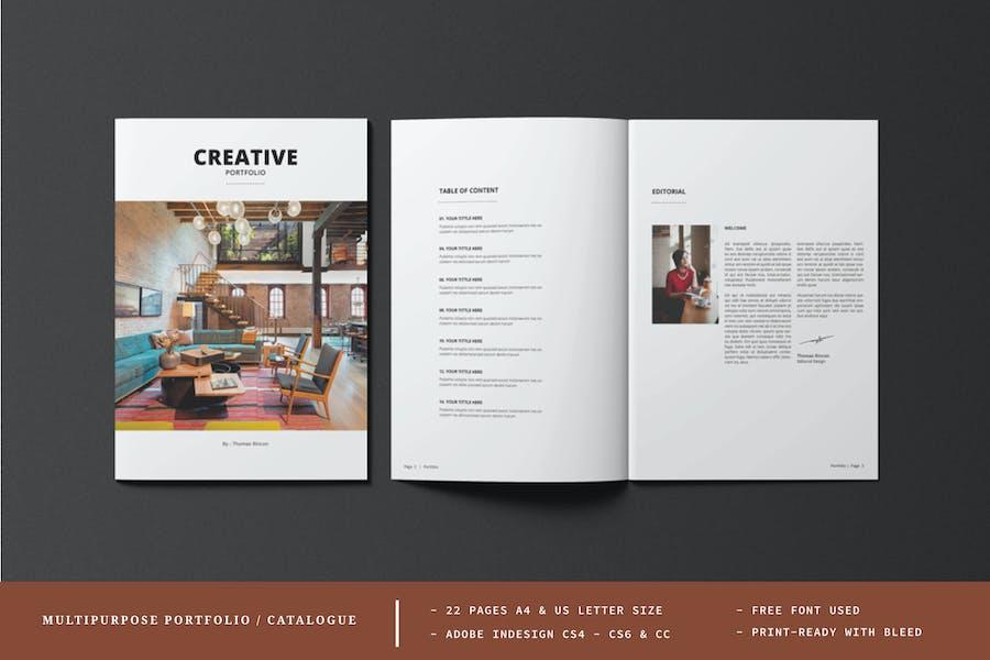 Multipurpose Portfolio / Catalogue
