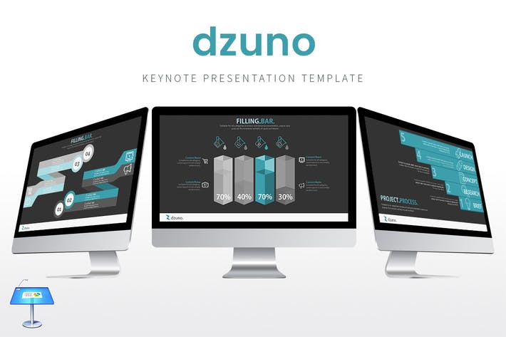 Thumbnail for Dzuno - Keynote Template