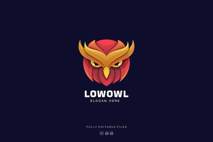 Thumbnail for Owl Head Colorful Logo