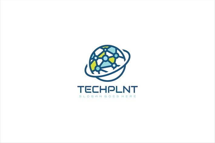 Thumbnail for Planet Technology Logo Design