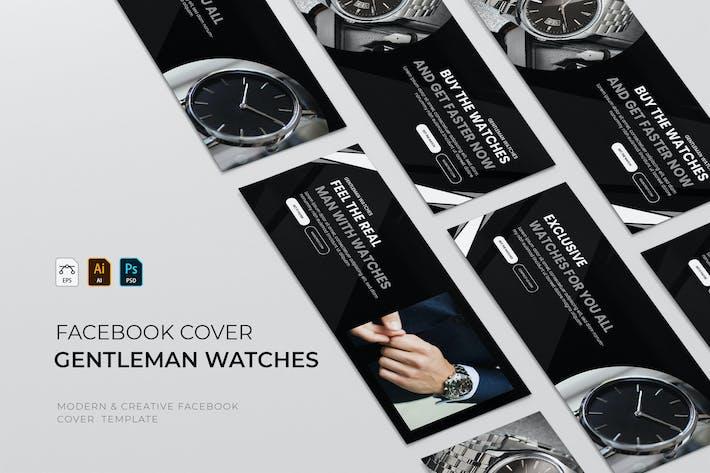 Gentleman Watches | Facebook Cover