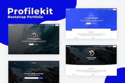 Profilekit - Bootstrap Portfolio Vorlage