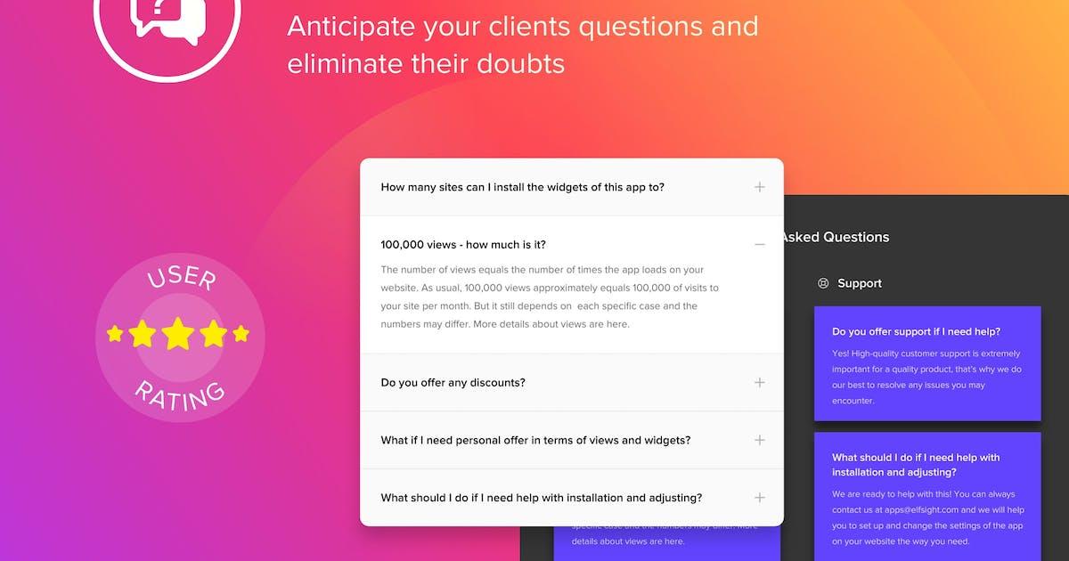 Download WordPress Accordion FAQ Plugin by Elfsight