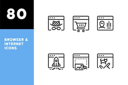 Browser & Internet Icons