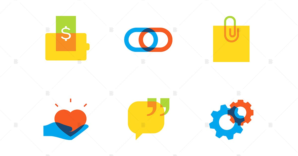 Download Technology and social media - flat design icons by BoykoPictures