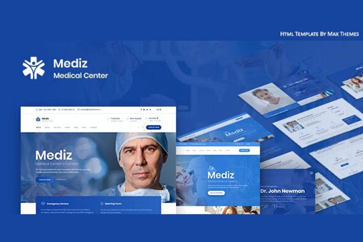 Thumbnail for Mediz - Medical HTML