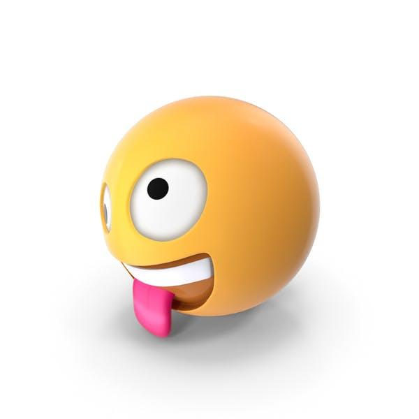 Zany Face Emoji