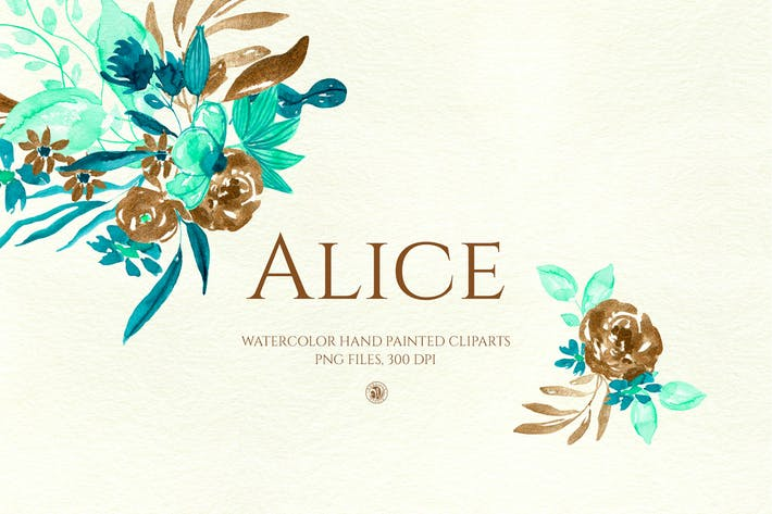 Thumbnail for Alice - watercolor flowers