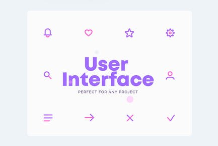 UICONS - Pack complet d'Icones de l'interface utilisateur