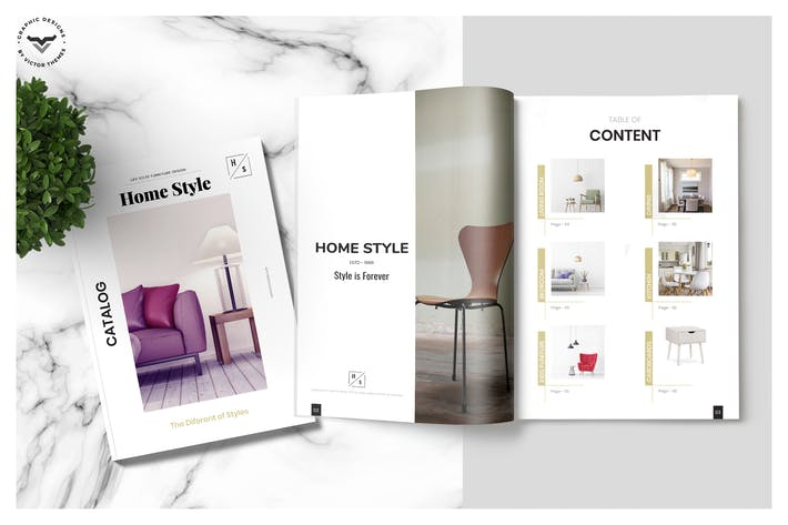 Thumbnail for Furniture Brochure Catalogue Template