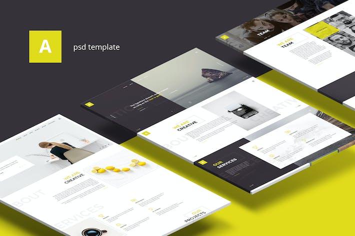Thumbnail for Antica — Multipurpose Business & Agency Portfolio