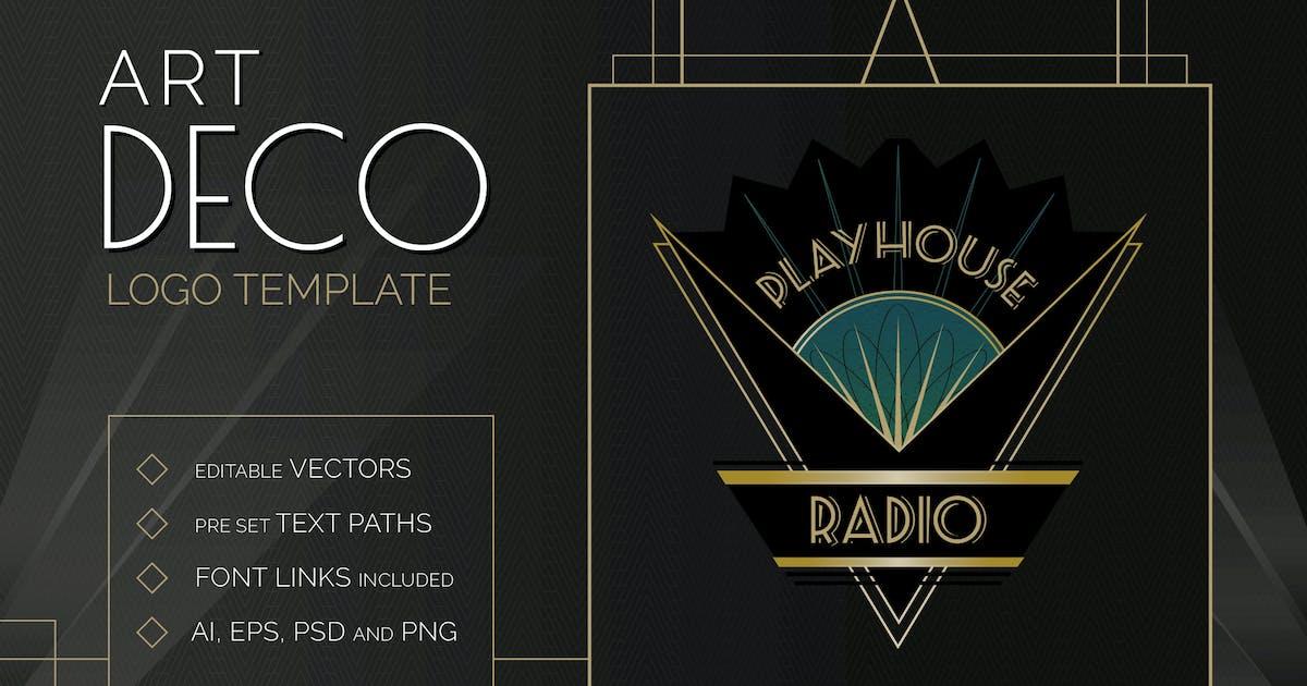 Download Art Deco Logo Template by wingsart