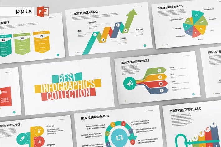 Thumbnail for INFOGRAPHIC - Многоцелевой Powerpoint V174
