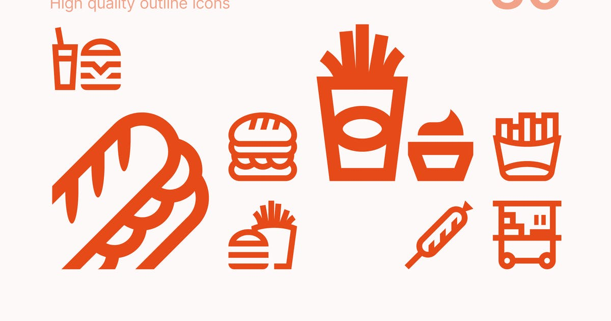 Download Fast Food Icons by polshindanil