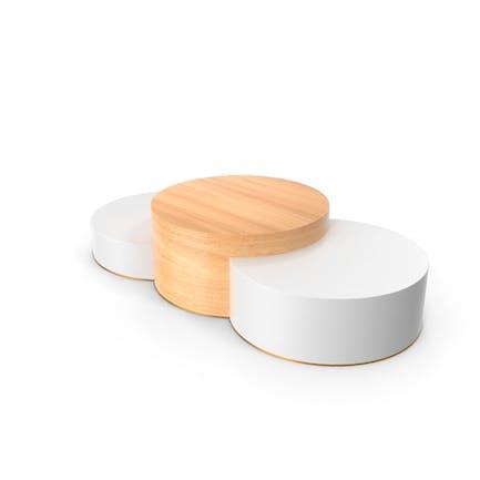 Elegant Wood Product Podium