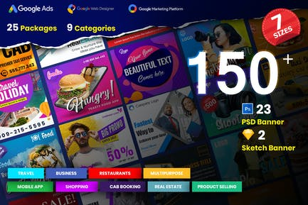 25 Ad Banner Bundle