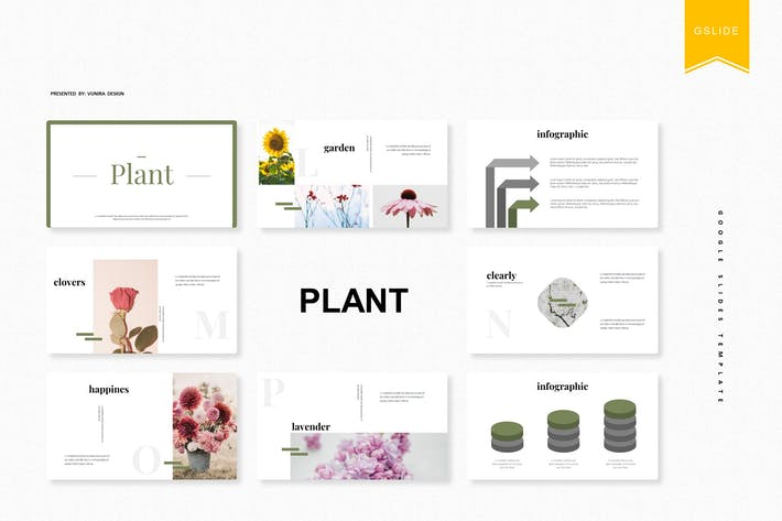 Thumbnail for Plant | Google Slides Template