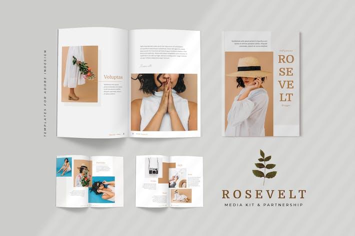Thumbnail for Rosevelt - Media / Press Kit  Template