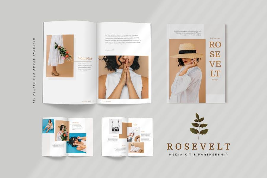 Rosevelt - Media / Press Kit  Template