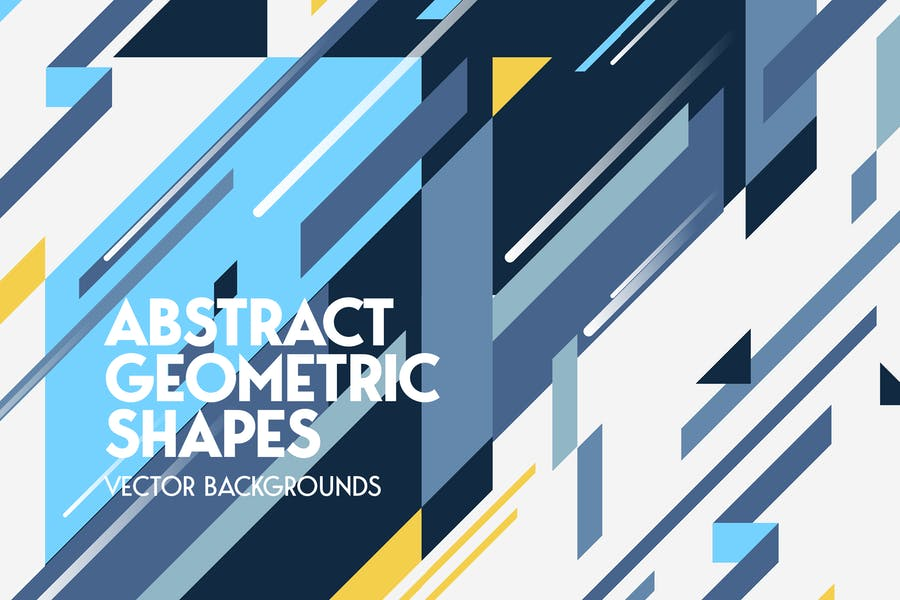 Abstract Diagonal Geometric Shapes Backgrounds