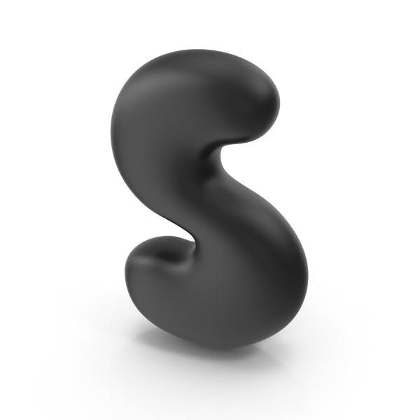 Пузырьковая буква S