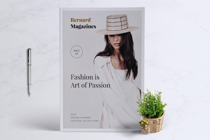 Thumbnail for BERNARD - Fashion Magazine