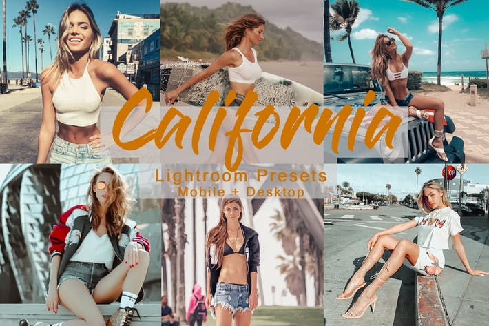 Cover Image For California -  Lightroom Presets Pack